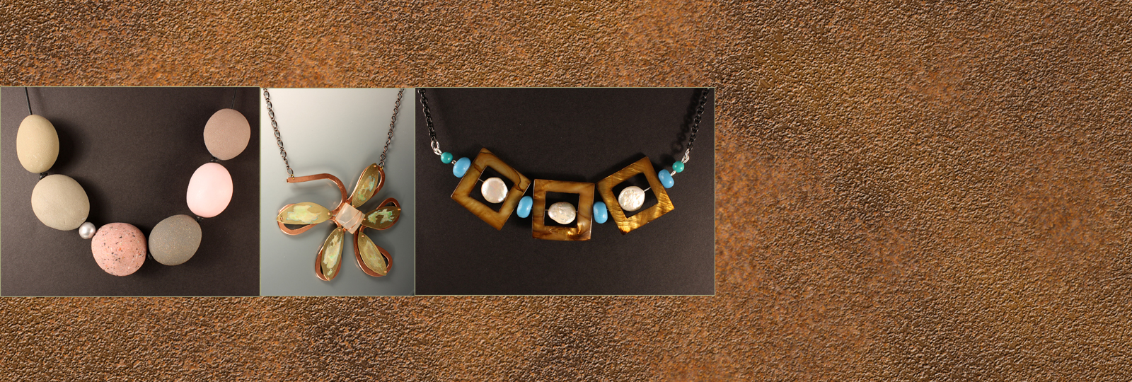 One-Of-A-Kind Designer Neckpieces