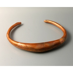 Copper Spiculum Cuff with Patina